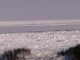 ノロッコ号から見た流氷