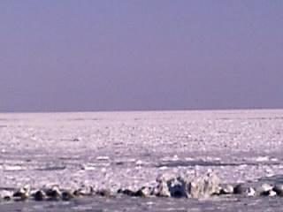 常呂の流氷